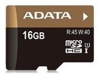 16GB Ultra High Speed MicroSDHC UHS-I +SD adapter