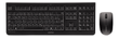 CHERRY DW 3000 Keyboard and Mouse Set, USB, Black