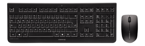 DW 3000 Keyboard and Mouse Set, USB, Black