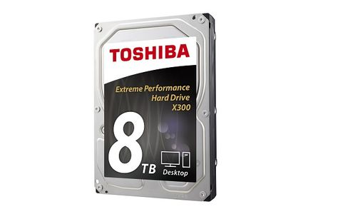 TOSHIBA X300 - High-Performance 8TB (HDWF180EZSTA)