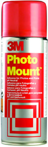 3M 3M Spray Photo Mount Rød (PMOUNT)