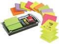 POST-IT Z-note POST-IT disp 76x76 m/notes+faner