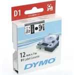 DYMO D1 24mm 1pk, Sort/