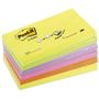 POST-IT Z-Notes Post-it R350NR Regnbuepakning 76x127mm pk/6