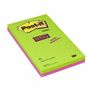 POST-IT Notes Super Sticky Ultra farver linieret 125x200mm pk.4