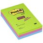 POST-IT Notes Super Sticky Ultra farver 102x152mm Pk/3