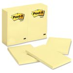 Notes Post-it 659 102x152mm Gul