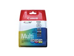 CANON CLI-526 C/M/Y MULTIPACK BLISTER COLOUR INK CARTRIDGE