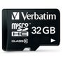VERBATIM 32GB SD Micro (SDHC) Class 10 w/adapter