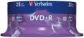 VERBATIM DVD+R Verbatim 4.7Gb 16x spindle (25)