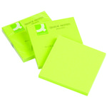 Notes Q-Connect Neon Grøn 76x76mm Pk/6