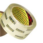 Emballagetape Scotch 3739 Klar PVC-fri 50mmx66m