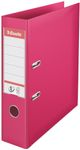 Brevordner Esselte No.1 Power A4 75mm Fuchsia