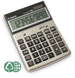 CANON HS-1200TCG desk display calculator (2500B004AB)