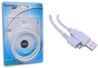 SAVER USB 2.0 Cable A-MicroB(5p) 2 m