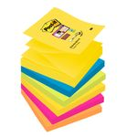 POST-IT Z-Notes Post-it Super Sticky Rio 76x76mm Pk/6