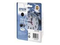 EPSON Ink/27XL Alarm Clock 17.7ml BK (C13T27114012)