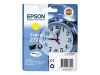EPSON Ink/27XL Alarm Clock 10.4ml YL (C13T27144012)