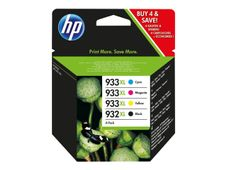 HP 932XL/ 933XL ink cartridge black and tri-colour high capacity combo-pack