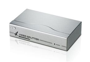 ATEN VGA-splitter,  1-4, 1280x1024,  HD15 ha - 4xHD15ho (VS-94A)