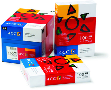 4CC Kopipapir Colour Copy A3 100g Pk/500 (1235043)