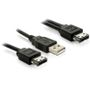 DELOCK Power Over eSATA Y- cable >USB