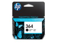HP 364 BLACK INK CARTRIDGE (CB316EE)