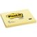 POST-IT POST-IT® notatblokk 76x102mm gul