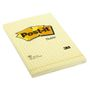 POST-IT Notes 662 102x152mm Gul Kvad