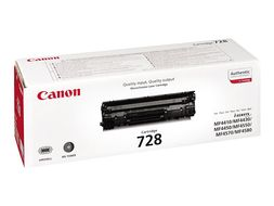 CANON Black Toner Cartridge Type CRG 728  (3500B002)