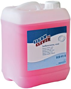 . Sæbe SMA91 rosa 5 Ltr Clean and Clever Parfumeret (2117587)