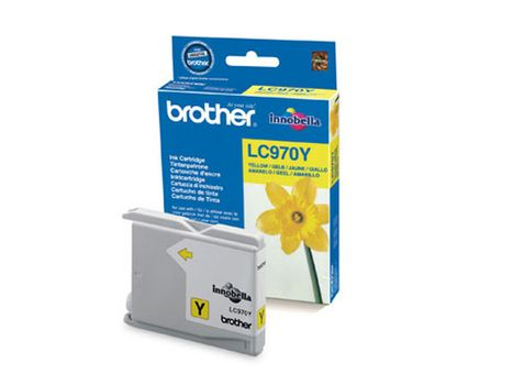 Brother LC-970Y INK CARTRIDGE YELLOW F/ DCP-135C -150C MFC-235C NS