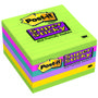 POST-IT Notes Super Sticky Ultra farver 100x100mm Pk/6