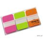 POST-IT Index Post-it 686-PGO Strong Pink, grøn og orange Pk/3x22