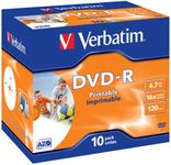 VERBATIM DVD-R/ 4.7GB 16x AdvAZO JC 10pk print (43521)