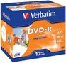 VERBATIM DVD-R/ 4.7GB 16x AdvAZO JC 10pk print