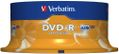 VERBATIM DVD-R 16x 4,7GB spindle (25)