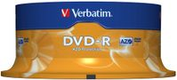 DVD-R Verbatim 4.7Gb 16x spindle (25)