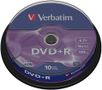 VERBATIM DVD+R 16x 4,7GB  spindle (10)