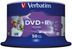VERBATIM DVD+R Media 16X Wide Inkjet Printable 4.7GB Advanced AZO 50 Pack