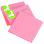 QConnect Notes Q-Connect Neon Pink 76x76mm Pk/6