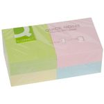 Notes Q-Connect Rainbow Pastel 76x76mm Pk/12