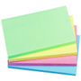 QConnect Notes Q-Connect Rainbow Pastel 76x127mm Pk/12