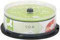 QConnect CD-R 80min Q-Connect 700mb 52x Cake Box Pk/25 Incl. afgift kr. 2,47 pr. stk.