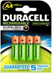 Batteri Duracell StayCharged opladeligt HR6 AA MAH 2500
