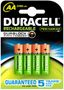 DURACELL Batteri StayCharged Genopladeligt HR6 AA MAH 2000