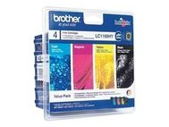 BROTHER Blekk Brother LC1100 Hicap. CMY (3) (LC1100HYVALBPDR)