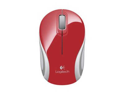 LOGITECH Wireless Mini Mouse M187 red (910-002732)