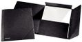 ESSELTE 3-flap folder w/elastic A4 Black - FSC