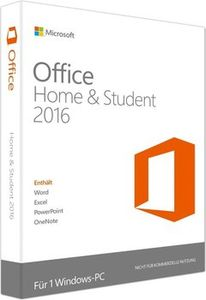DELL Microsoft Office Home and Student 2016 - Licens - 1 PC - OEM, icke-kommersiell - Win (630-ABDL)